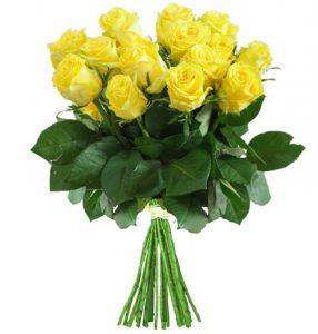 "10 gelbe Rosen ""Penny Lane"""