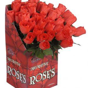 Rote Rose mit Stiel Deko & Kostümzubehör